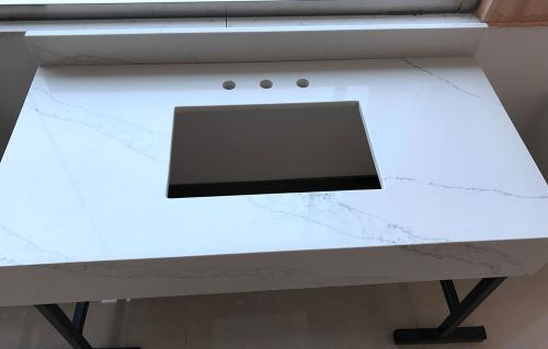 Calacatta   Artificial Quartz Countertop