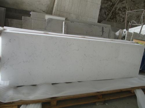 Carrara White Artificial Quartz Countertop